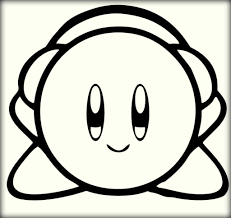 nintendo kirby coloring pages printable color zini