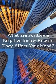 what are negative and positive ions and how do they affect you