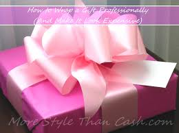 bows for gifts wrap a gift professionally