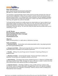 Examples Of Abilities For Resume by Skill Resume Template Billybullock Us
