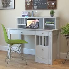 Wood Computer Desk With Hutch Barrel Studio Jaynes Wooden Computer Desk With Hutch Reviews