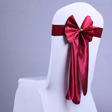 chair cover sashes 5 pcs lot fashion design chair sashes bow chair cover sashes for