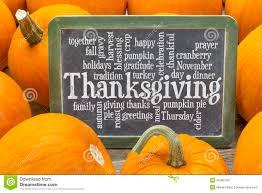 thanksgiving celebration word cloud stock photo image 45280102
