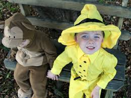 Curious George Halloween Costume Toddler Curious George Man Yellow Hat Costume Shirley