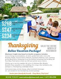 the ultimate belize thanksgiving vacation it s not late