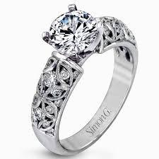 filigree engagement rings filigree diamond rings wedding promise diamond engagement