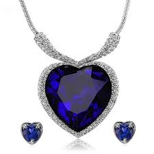 necklace titanic images Buy titanic heart of the ocean crystal zircon jewellery necklace jpg