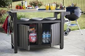 outdoor entertainment keter unity xl indoor outdoor entertainment bbq storage table