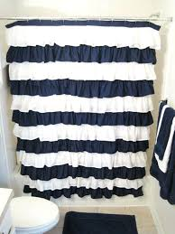 blue and white shower curtains west elm stripe shower curtain