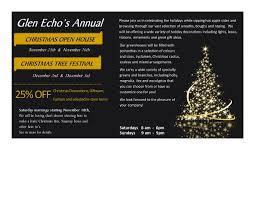 Christmas Open House Ideas by Glen Echo U0027s Annual Christmas Open House U0026 Christmas Tree Festival