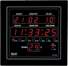 illuminated digital wall clock clocks digital wall desk clocks