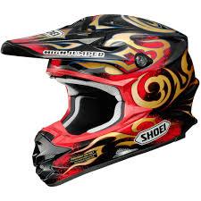 arai motocross helmets shoei new 2016 vfx w taka higashino replica fmx black gold red