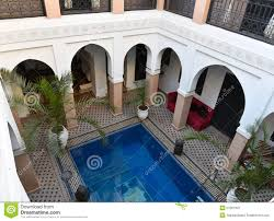 Moroccan Houses by Traditional Moroccan House Riad Stock Photo Image 51601302