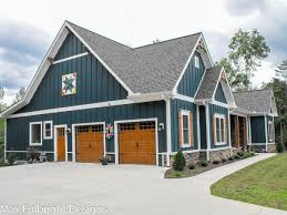 one story craftsman style home plans one or two story craftsman house plan car garage country houses