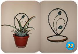 Wall Plant Holders Making A Wall Mounted Plant Holder Youtube
