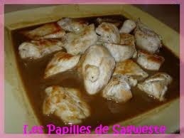 cuisiner blancs de poulet recette blanc de poulet sauce au miel et balsamique 750g