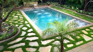 Backyard Pool Landscaping Pictures by Swimming Pool Landscaping Ideas Ideas For Beautiful Swimming