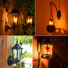 halloween led spotlights e27 110v 220v fire flame led bulb fire effect lamp novelty