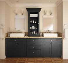 society shaker black pre assembled bathroom vanities the rta store