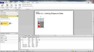 getting started with visio 08 dynamically link business data to
