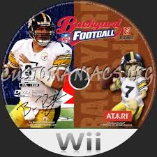 Wii Backyard Football by Forum Wii Custom Labels Page 12 Dvd Covers U0026 Labels By