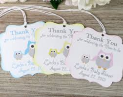 baby shower thank you gifts whale baby shower favor tags nautical baby shower thank you
