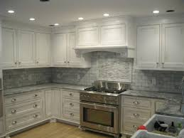 White Marble Backsplash Traditional Kitchen Boston By Tile - Marble backsplashes
