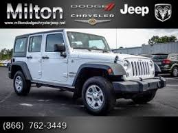 white four door jeep wrangler for sale used jeep wrangler sport rhd for sale from 6 900 to 40 000