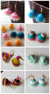 how to make jhumka earrings handmade quilling jhumkas oldfox004