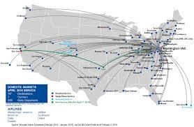 Florida Airport Map Nonstop Destinations Metropolitan Washington Airports Authority