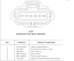 ford maf wiring diagram ford wiring diagrams instruction
