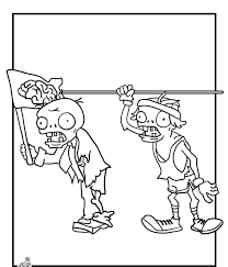 plants vs zombies coloring pages snorkel zombie coloring4free