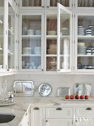 Glass Upper Cabinets Plain Innovative Kitchen Cabinets With Glass Doors Glass Upper