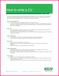 Examples On How To Make A Resume by 7 An Example On How To Write A Cv
