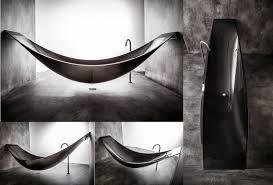 vessel hammock bathtub by splinter design in living spaces