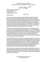 carole king anti pipeline letter to dominion resources