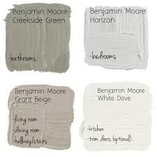 Benjamin Moore Historical Colors by Great Neutral Paint Palette By Benjamin Moore Creekside Green