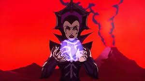 Teela And Evil Lyn - evil lyn s first spell youtube