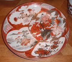 Japanese Kutani Vases Kutani Ware China Dr Lori Ph D Antiques Appraiser