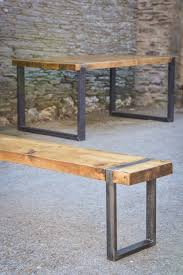 Handmade Wooden Outdoor Furniture by Best 20 Wood Steel Ideas On Pinterest Journal Of Steel Table