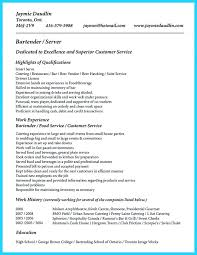 bartender resume templates best of server and bartender resume bartender resume sle