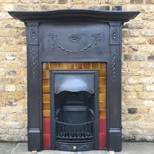 a victorian cast iron fireplace salvoweb com