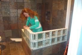 glass block bathroom designs glass block bathroom ideas