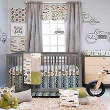 Crib Bedding Collection by Glenna Jean Uptown Traffic Crib Bedding Collection Buybuy Baby