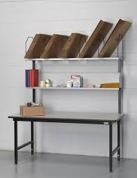 packing table with shelves packing stations dehnco