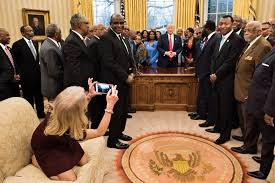 photos of kellyanne conway kneeling on oval office couch spark
