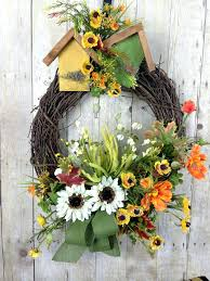 articles with spring wreath ideas for front door tag mesmerizing