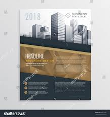 Real Estate Flyer Template Free Download by Real Estate Brochure Flyer Template Design Stock Vector 572071960