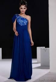one shoulder navy blue prom dresses 2016 2017 b2b fashion