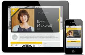 digital business card icon creates a wicked smart digital business